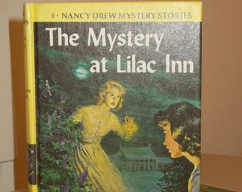 Nancy Drew #04 The Mystery at Lilac Inn Blue End Pages Carolyn Keene