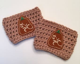 Autumn/Fall Hand cozies for your cup