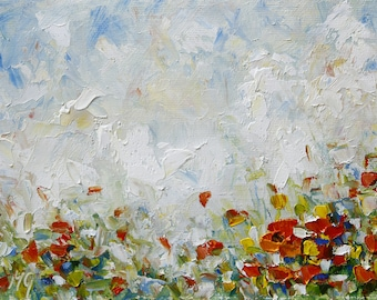Oil Abstract Painting  Landscape Painting Oil Painting  Modern Painting Contemporary Painting Palette Knife Painting Oil Artwork Painting