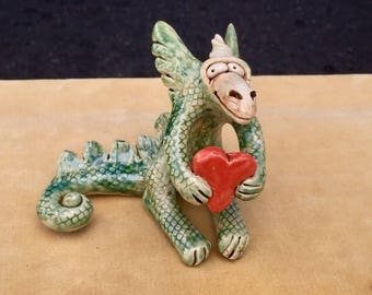 Dragon Small with Heart