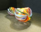 Glass Pipe Rainbow Spiral Pipe
