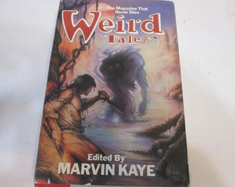 Weird Tales edied by Marvin Kaye
