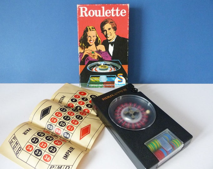 Vintage Roulette game from 1977