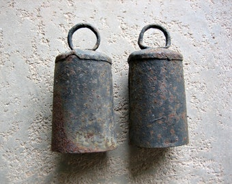 2 Rusty Old Bells
