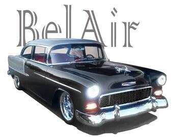 T-Shirt 1955 Chevy Bel Air