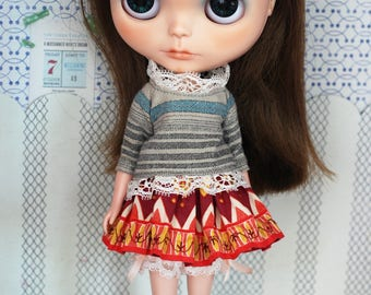 Cuttie girl set for blythe