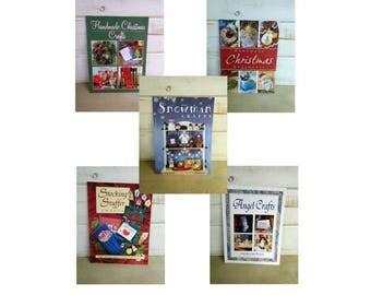 Holiday Craft Books - 5 Handmade Christmas Craft Books - Publications International, Ltd