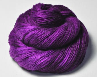 Poisoned by love - Fleece Silk Lace Yarn - LIMITED EDITION