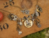 Over the Garden Wall Inspired Charm Necklace