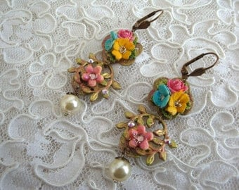 Spring earrings spring earrings