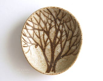 Andersen Design Studio Pottery Modern Tree Decor Pin Dish Bowl