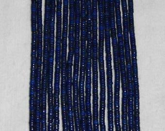 Lapis, Lapis Heishi, Lapis Bead, Natural Lapis, Natural Stone, Semi Precious, Blue Lapis, Strand, 5mm
