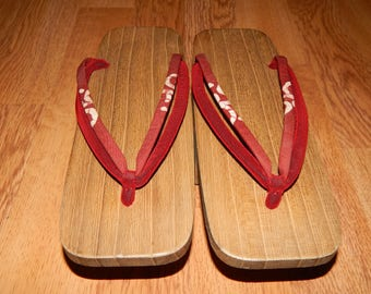 Geta Japanese Wooden Clogs Sandals Slippers Shoes