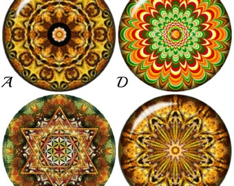 Mandala 20 mm snap charms, Sanskrit snaps fit Ginger Snaps Jewelry, Magnolia and Vine, Noosa jewelry plus other 18-20 mm snap jewelry.
