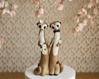 Meerkat Wedding Cake Topper by Bonjour Poupette