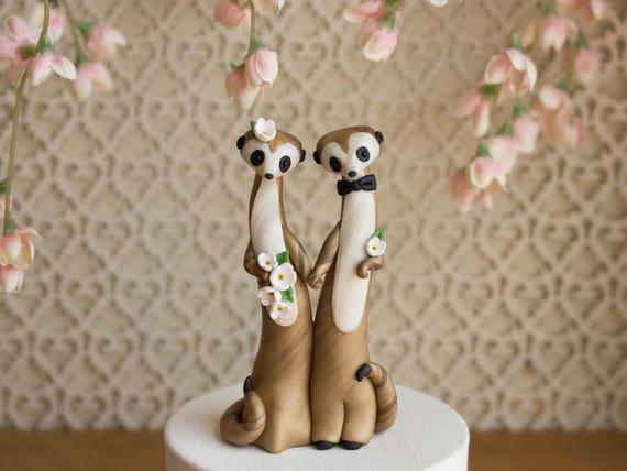 Meerkat Wedding Cake Topper by Bonjour Poupette