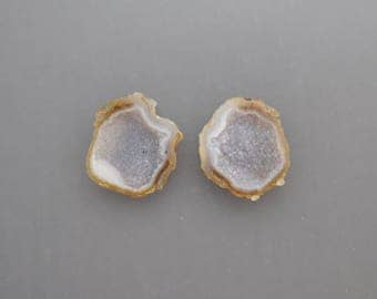 Tabasco Geode Pair