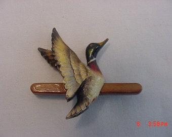 Vintage Mallard Duck Brooch  18 - 622