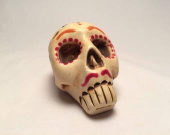 Painted Skull Ocarina