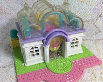 20% SALE 1994 Polly Pocket Light Up Bridal Salon Boutique Untested No Dolls Included Bluebird