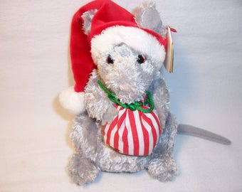 Ty Beanie Baby JingleMouse,Collectibles,Toys,Ty Beanie Babies,Gifts,Stuffed Animals