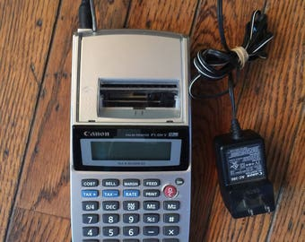 Vintage Canon Palm Printer P1-DH V Calculator