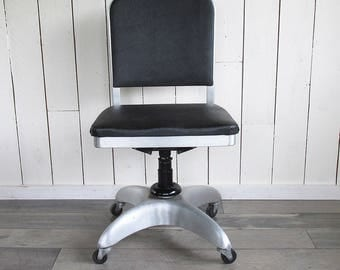 Mid Century Good Form Steno Chair - Office Chair - Tanker Chair