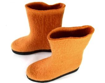 Wool Boots for Women Slipper boots, organic wool boots, wool valenki boots, Handmade boots shoes, Valenki Winter Boots, Wool shoes slipper