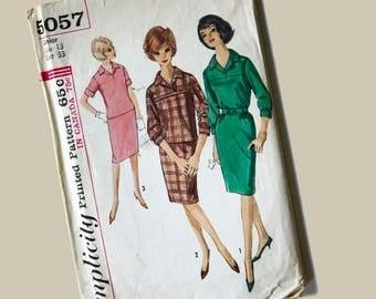 Simplicity Dress Pattern, size 13, Bust 33