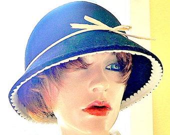 SCALA Black & White Wool Hat