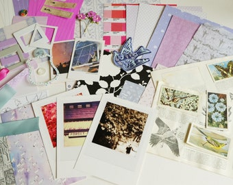Of Leaf & Wing -  CRAFTY BITS - crafting kit with papers and embellishments