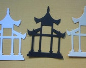 Pagoda Paper Die Cut  Accent.......... Size 8 Pieces