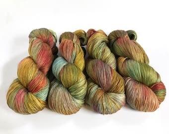 Meander. Zorya Pure Silk Lace.