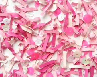 Pink Confetti. Baby Girl Gender Reveal. Valentine's Day Confetti. Confetti Favors. Confetti Party Bags. Birthday Confetti. Baby Shower Favor