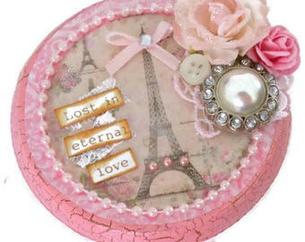 Decorative Trinket Box Eiffel Tower