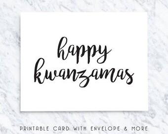 50% OFF kwanzaa card, kwanzaa printable, kwanzaa download, kwanzaa funny, happy kwanzamas, kwanza cards, kwanza greeting, kwanza note, kwanz