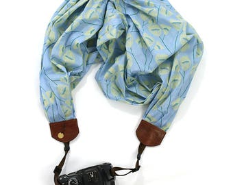 scarf camera strap soft willow - BCSCS088