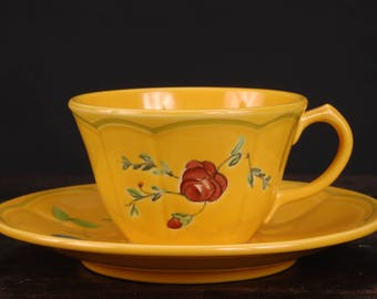 Longchamp, Marseilles Cup and Saucer, France