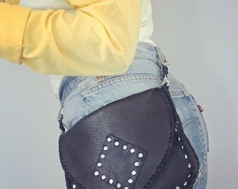 High Road Studded Hip pouch/clutch/crossbody