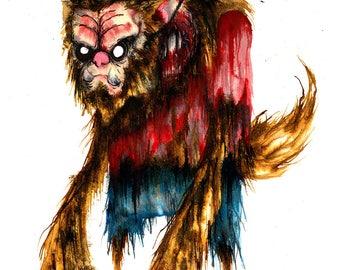 Wolfish - Matte Print