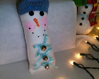 Jingle Blue Snowman