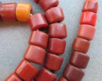 Antique African Olumbo Beads