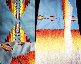 Native style shawl