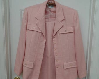 Vintage Henry Lee Two Piece Jacket and Skirt Suit