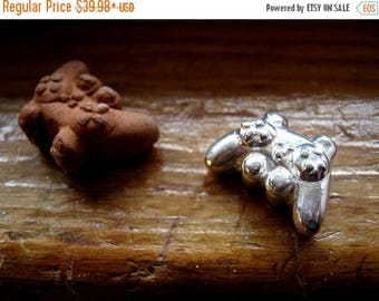 Summer time Sale Event Gotta Get Your Gamer Bead PS3 game controller Large 5mm hole handmade bead /Copper /Fine Silver Precious Metal Clay F