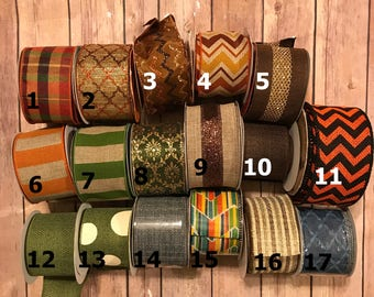 SSD Fall Bows- LIMITED QUANTITIES
