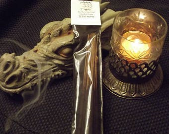 APRICOT & CREAM Scent Hand Dipped Stick Incense -- Sweet, Fruity, Fresh