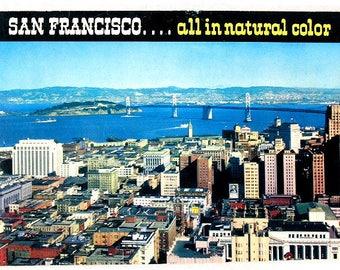 SAN FRANCISCO .... All in Natural Color Souvenir Booklet, circa 1950's
