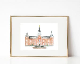 Provo City Center LDS Temple PRINT
