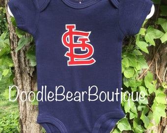 St. Louis Cardinals Baby Onesie